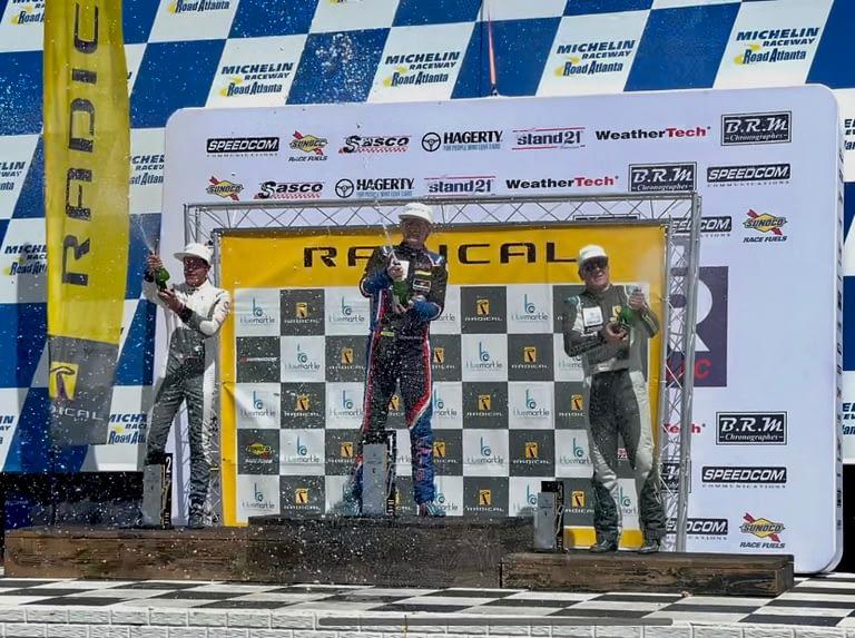 Fantastic Results after Radical Cup races at Road Atlanta